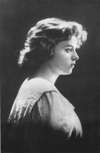 Августа Миклашевская, предположительно 1920 год