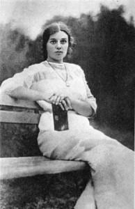 Августа Миклашевская, предположительно 20-е годы