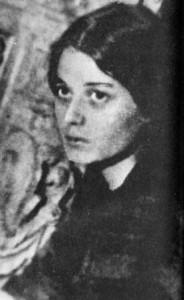 Августа Миклашевская, предположительно 1920-е годы