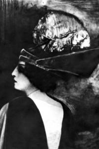 Августа Миклашевская в спектакле «Фамира Кифаред», Москва, предположительно 1916 год