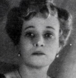 Августа Миклашевская в роли Сибиллы Берлинг, спектакль «Он пришел» Пристли, Москва, 1945 год