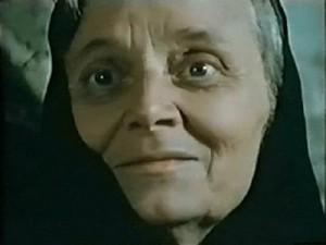 Августа Миклашевская в роли Терезы Сантос, матери Мигеля, фильм «Наследники», трилогия «Киевлянка», 1960 год