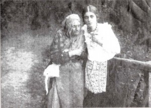 Августа Миклашевская в немом фильме «Раба любви», 1916 год