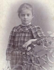 Августа Миклашевская, предположительно 1902 год