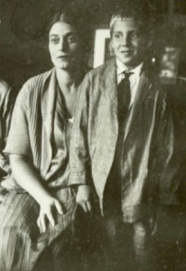 Августа Миклашевская с сыном Игорем, 1930-е годы