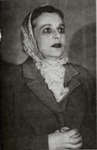Августа Миклашевская, 1943 год