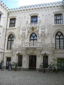 Внутренний двор королевского замка