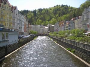 Вид с моста на канал