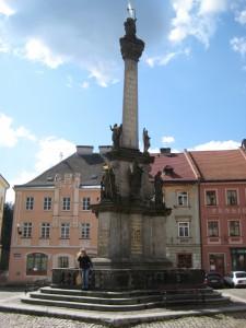 Чумной (Марианский) столб на Рыночной площади